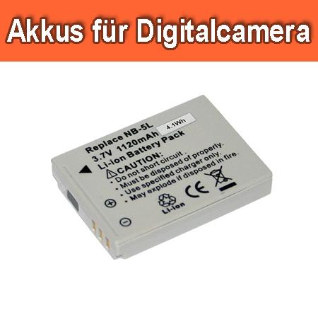 Digitalkamera Akkus